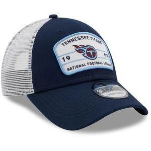 New Era Tennessee Titans 9Forty Loyalty Trucker Adjustable Hat (Navy/White)