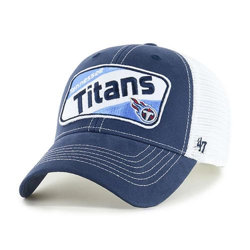 '47 Brand Youth Tennessee Titans Woodlawn 47 MVP  Adjustable Hat (Navy/White)