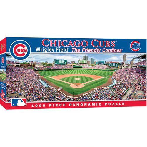 Chicago Cubs Panoramic Puzzle