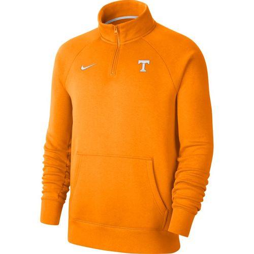 Men's Nike Tennessee Volunteers 1/4 Zip Long Sleeve Fleece (Orange/White)