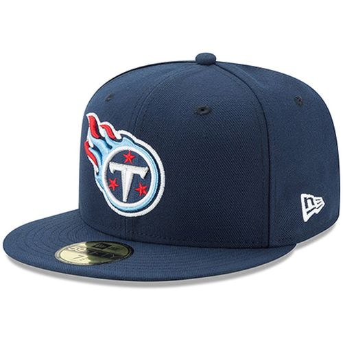 New Era Tennessee Titans 59Fifty Fitted Hat (Navy)