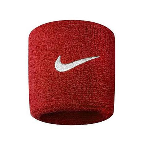 Nike Swoosh Wristbands (Red)