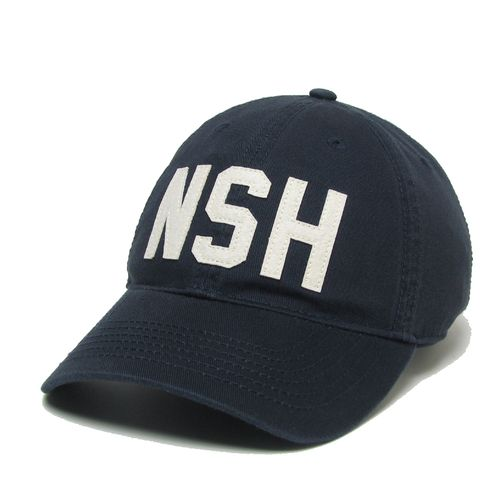 "Nashville ""NSH"" Code Slouch Adjustable Hat (Navy)"