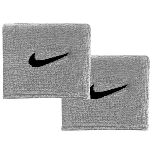 Nike Swoosh Wristbands (Grey/Black)