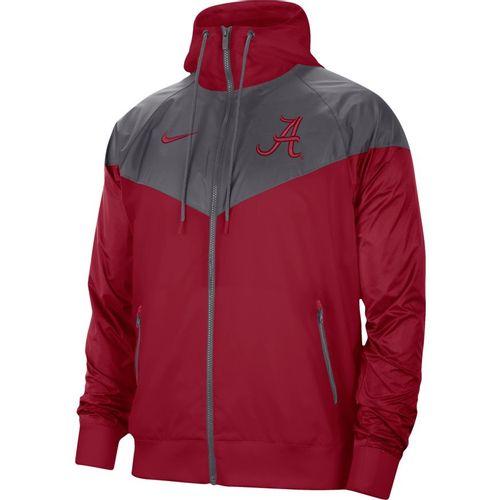 Men's Nike Alabama Crimson Tide Windrunner Jacket (Crimson/Grey)