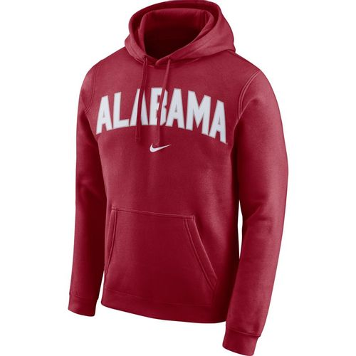 Men's Nike Alabama Crimson Tide Club Arch Hooded Fleece (Crimson)
