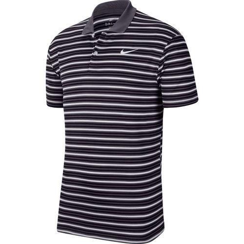 Men's Nike Dri-FIT Victory Polo (Black/Grey/White)