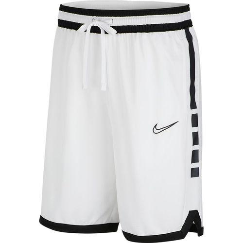 Men's Nike Dri-FIT Elite Basketball Short (White/Black)