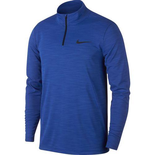 Men's Nike Dri-FIT Superset 1/4 Zip Training Long Sleeve (Royal/Black)