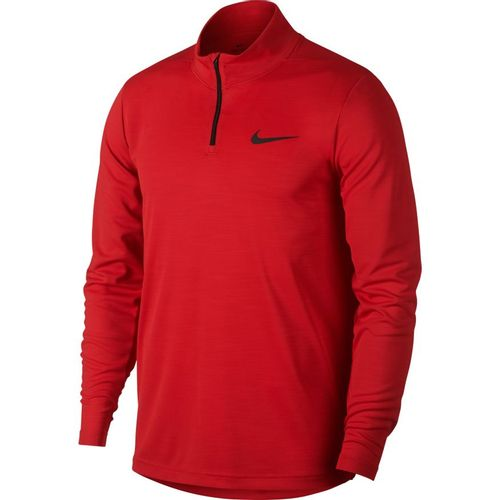 Men's Nike Dri-FIT Superset 1/4 Zip Training Long Sleeve (Red/Black)