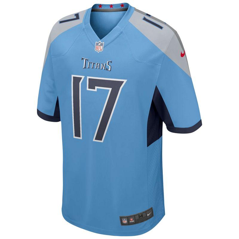 Men's Nike Tennessee Titans Ryan Tannehill Alternate Game Jersey (Light Blue)