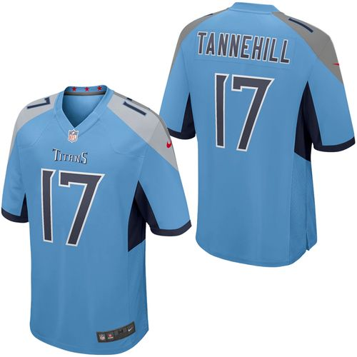 Men's Nike Tennessee Titans Ryan Tannehill Alternate Game Jersey (Light Blue)