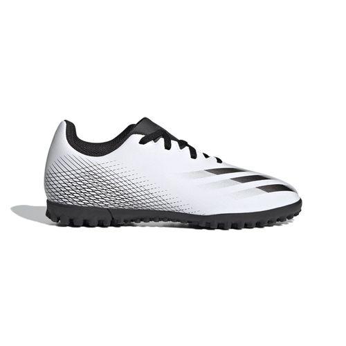 Grade School Adidas X Ghosted 4 Turf Shoe (White/Black)