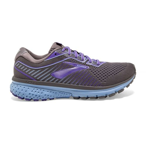 Women's Brooks Ghost 12 (Shark/Violet)