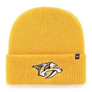 '47 Brand Nashville Predators Brain Freeze Knit Hat (Gold)