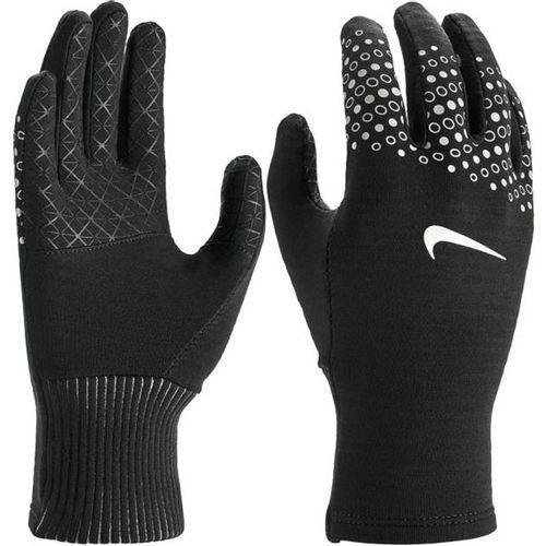 Women's Nike Sphere 360 Running Gloves (Black/Silver)