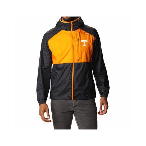 Men's Columbia Tennessee Volunteers Flash Forward Jacket (Black/Orange)