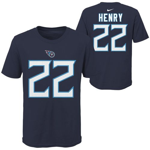 Youth Tennessee Titans Derrick Henry Player T-Shirt (Navy)