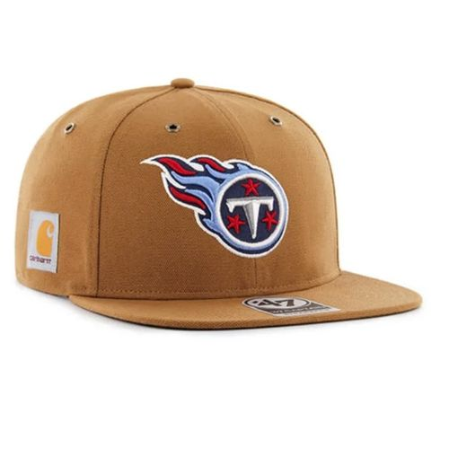 '47 Brand Tennessee Titans Carhartt 47 Captain Adjustable Hat (Brown)