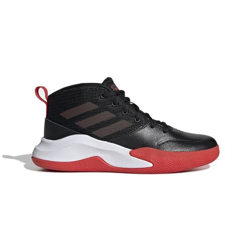 Grade School Adidas Own The Game (Black/Red)
