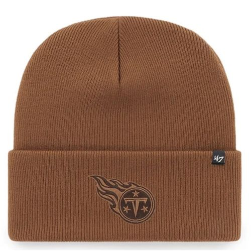 '47 Brand Tennessee Titans Carhartt Cuff Knit Hat (Brown)