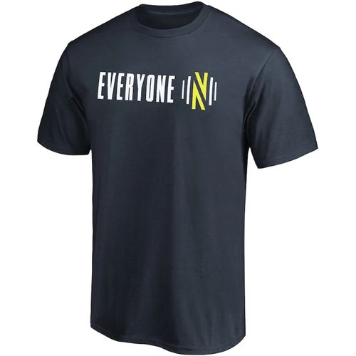 Men's Fanatics Nashville Soccer Club Team Playoff Slogan T-Shirt (Navy)