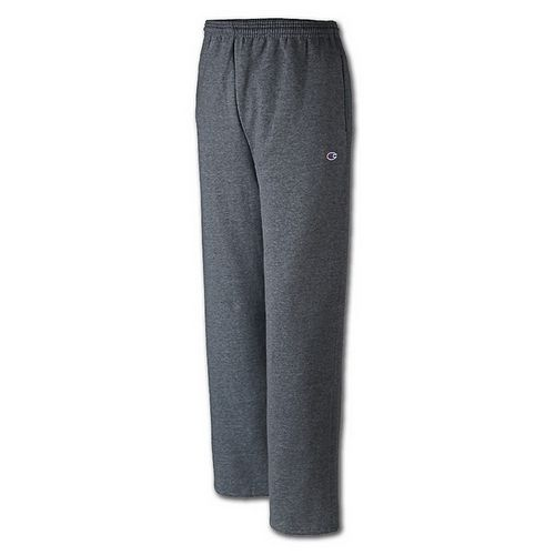 Men's Champion Powerblend Fleece Pant (Charcoal)