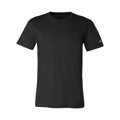 Men's Champion Basic Jersey T-Shirt (Black)