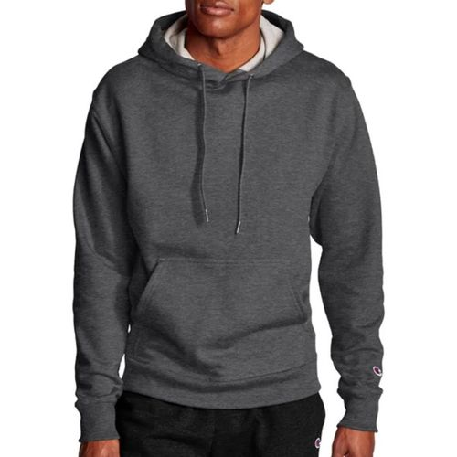 Men's Champion Powerblend Hooded Fleece (Granite Heather)