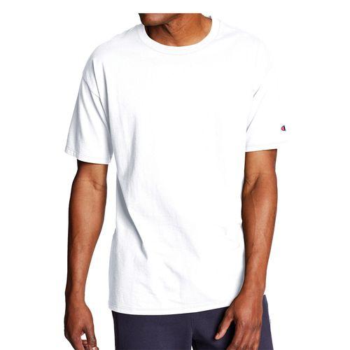 Men's Champion Basic Jersey T-Shirt (White)
