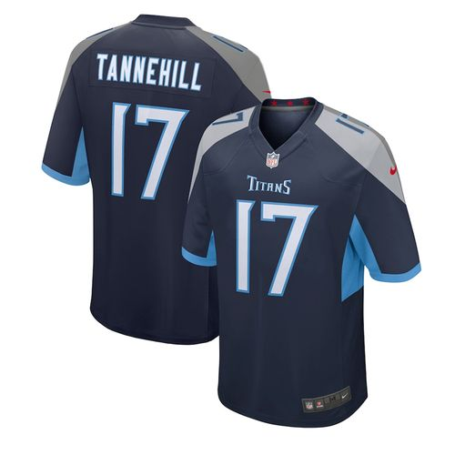 Youth Nike Tennessee Titans Ryan Tannehill Home Game Jersey (Navy)