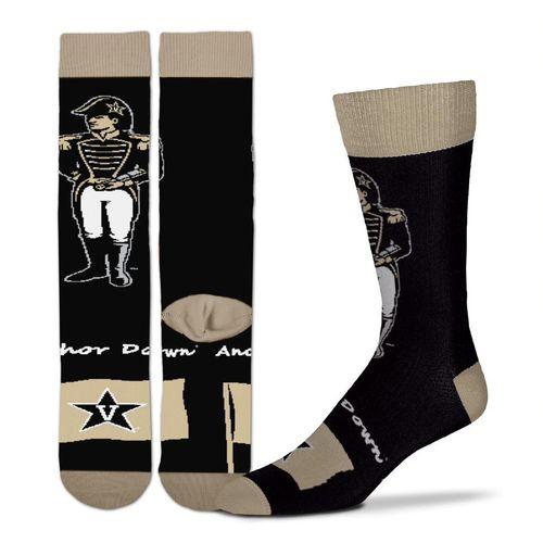 Vanderbilt Commodores Flag Sock