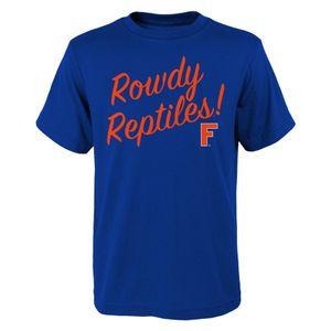 Youth Florida Gators Vault Slogan T-Shirt (Royal)