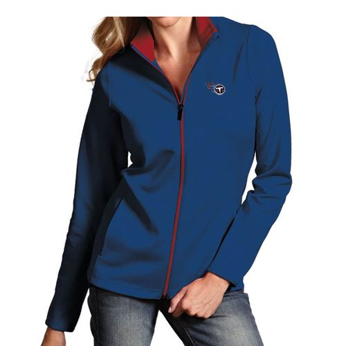 Women's Antigua Tennessee Titans Leader Jacket (Navy)