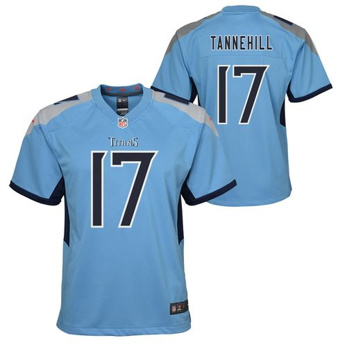 Youth Nike Tennessee Titans Ryan Tannehill Alternate Game Jersey (Coast Blue)