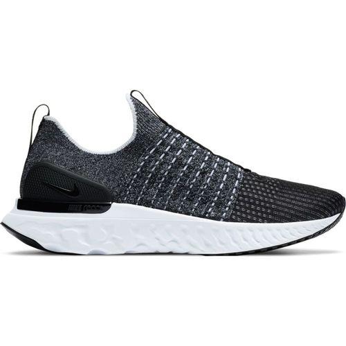 Men's Nike React Phantom Run Flyknit 2 (Black/White)