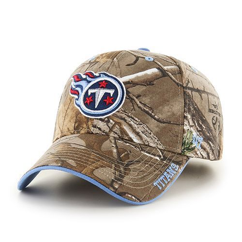 '47 Brand Tennessee Titans Realtree Frost '47 MVP Cap (Camouflage)
