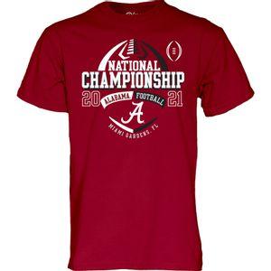 Men's Alabama Crimson Tide 2020 National Championship Bound T-Shirt (Crimson)