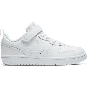 Pre School Nike Court Borough Low 2 (White/White)