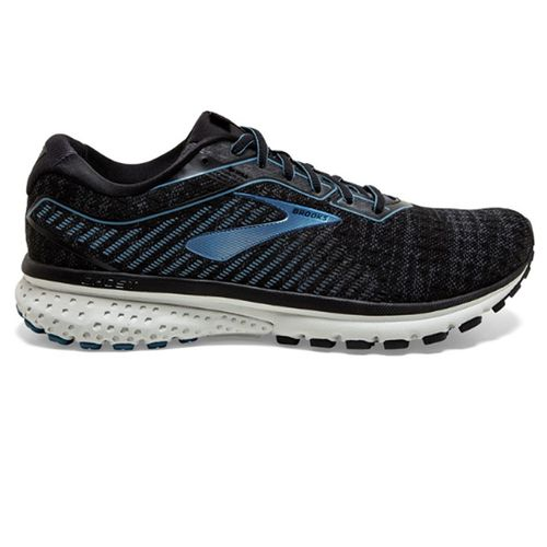 Men's Brooks Ghost 12 (Black/Grey)