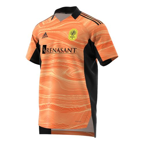 Men's Adidas Nashville Soccer Club Goalkeeper Jersey (Orange)