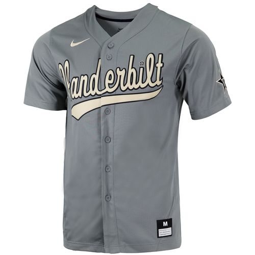 Men's Nike Vanderbilt Commodores Replica Baseball Jersey (Grey)