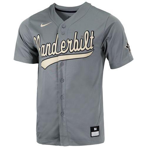 Men's Nike Vanderbilt Commodores Replica Baseball Jersey (Grey)