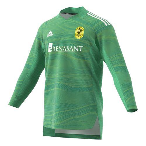Men's Adidas Nashville Soccer Club Long Sleeve Goalkeeper Jersey (Teal)