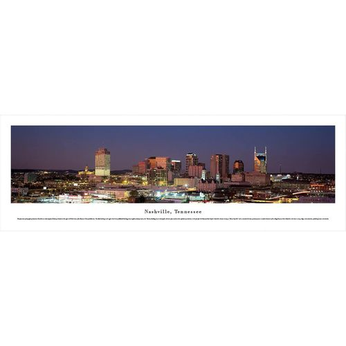 Nashville Skyline Panorama
