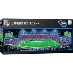 Tennessee Titans Panoramic Puzzle