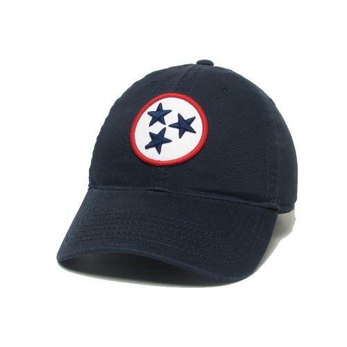 Legacy Tri-Star Patch Adjustable Hat (Navy)