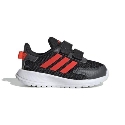 Pre School Adidas Tenasaur Run I (Black/Red)