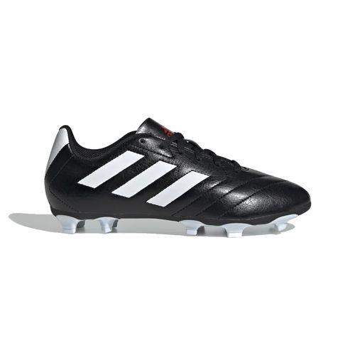 Pre School Adidas Goletto VII FG J Club Soccer Cleat (Black/White)