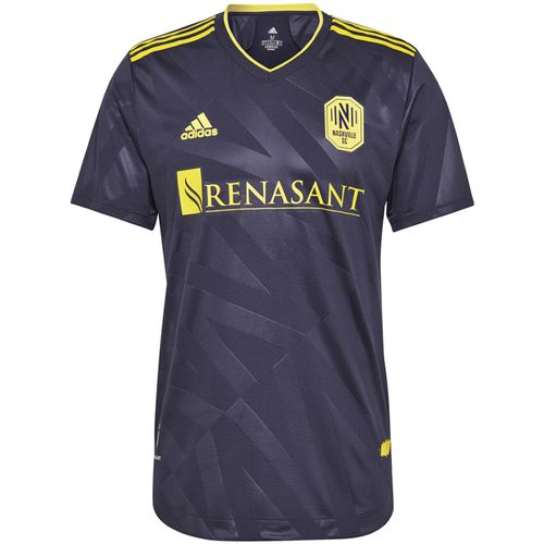 Men's Adidas Nashville Soccer Club 2021 Authentic Alternate Jersey (Noble Ink)